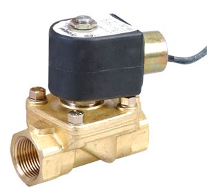 2-Way Steam Solenoid Valves Direct Lift, Normally Closed, Brass Valve Body, Epdm Seals | SV230 Series