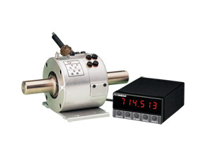 Rugged In-Line Rotary Torque Sensors with Integral Slip Ring Assembly  | TQ501 Rugged Rotary Torque Sensor