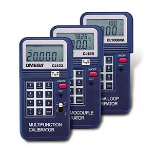 温度校正器(熱電対、mA、mV、V、Hz)| CL123, CL125, CL100MA | OMEGA | CL123, CL125, CL100MA
