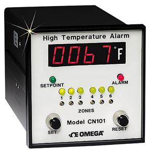단종 - 6 채널 고온용 모니터 장치 | CN100 시리즈