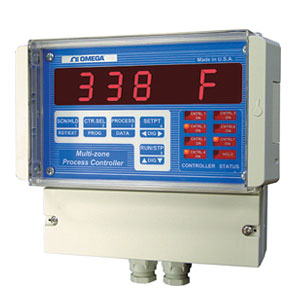 Ramp and Soak Process Controllers Wall-Mount, Multi-Zone | CN1514 and CN1517 Series