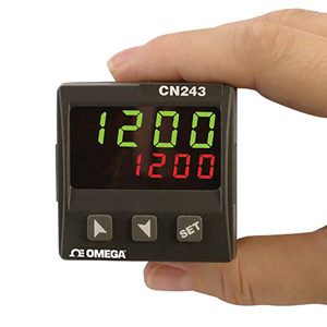 1/16 DIN Temperature Controller with Thermistor Inputs | CN243-R1-F2