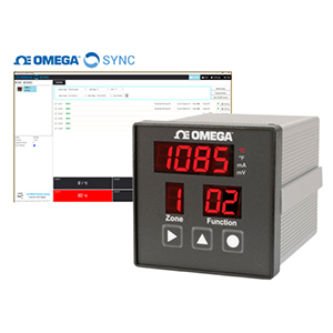 ユニバーサル6チャンネル1/4 DIN デジタル温度調節器(PIDコントローラ)|CN616A|オメガエンジニアリング | CN616A