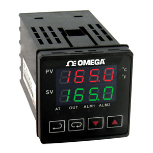 1/16 DIN Temperature Controllers for thermocouples and RTD Pt100 | CN740 Series