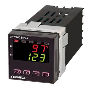 퍼지 논리를 이용한 1/16 DIN 온도/공정 컨트롤러 | CN78000 시리즈
