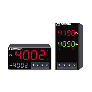 Dual Temperature PID Controllers, also available for process & strain | CNI8DH and CNI8DV