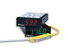 Temperature Panel Meter, Low Cost - Omega | DP116