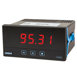Omega DP20 Panel Meter, RTD, Thermocouple, Process, 1/8 DIN | DP20