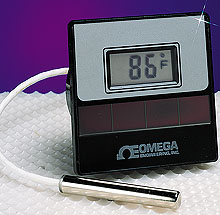Solar Powered Temperature Meter | DP750 Series
