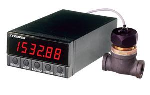 1/8 DIN 6자리 레이트미터/토털라이저 | DPF701 시리즈