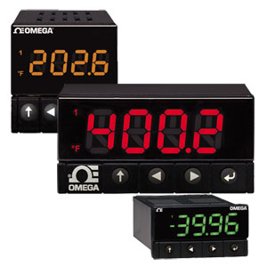 Digital Panel Meters | Panel Meters | OMEGA Engineering | DPPt Series - One of World's Best Panel Meters