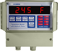 Wall-Mount Programmable Temperature Monitor | DPS3301