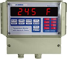 벽면 설치형 프로그래밍 가능한  온도 모니터 | DPS3301