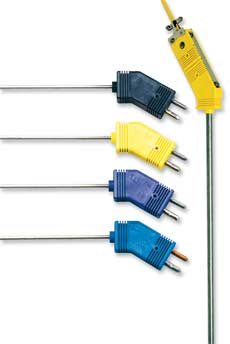 Thermocouple Probes With Low Noise Standard Size Connectors | G(*)QIN and G(*)QSS