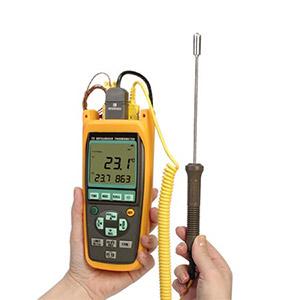 Termopar de alta precisión  y termómetros RTD | Serie HH100