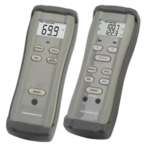 High Accuracy Single and Dual Input Digital Thermometers | HH11C, HH12C
