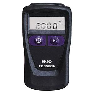 휴대용 디지털 써모미터 | HH200A 시리즈