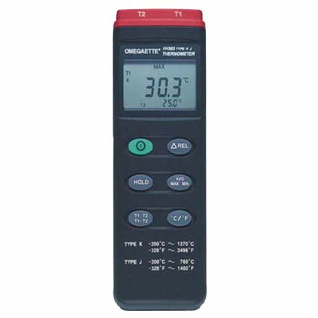 Datalogger Thermometer / Data Logger Thermometer | OMEGAETTE™ HH300 Series Thermometer