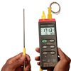 Datalogger Thermometers With Type K Thermocouples