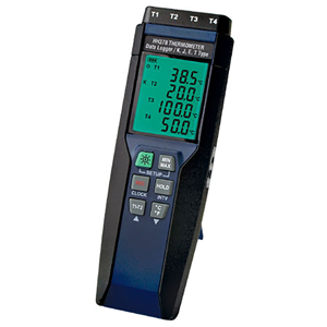 4-Channel Handheld Data Logger Thermometer | HH378 Series