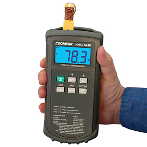 Handheld Digital Thermocouple Meters | HH500 Series