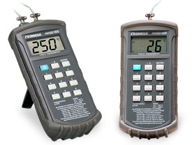 써모커플 R/S 타입 용 데이터로거  Handheld Digital Thermometers Type R and S Input, 