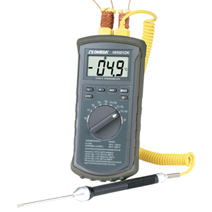 4 Channel Type-K Thermometer | HH501DK