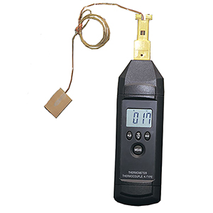 Handheld Low Cost Handheld Thermometer with Magnet Hanger | HH74K