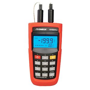 Termómetros de RTD inalámbricos de alta precisión | Serie HH804