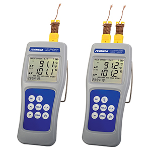 High Accuracy Multi-Channel Digital Thermocouple Thermometer | HH911T-HH912T