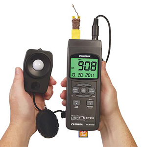 Handheld Light Meter With Data Logging SD Card | HHLM112SD