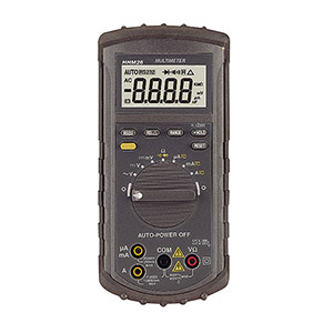 Low-Cost Handheld Multimeters, Thermometers, DMM | HHM10, HHM20 and HHM30 Series