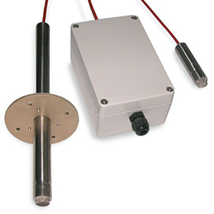 Transmisores combinados de temperatura/humedad relativa para altas  temperaturas | Serie HX15