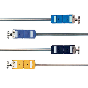 Thermocouple Probe with Connector |  Standard Size Connector | Quick Disconnect | (*)QIN and (*)QSS Series