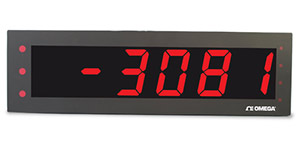 Extra Large Temperature Display Meter | LDP63100