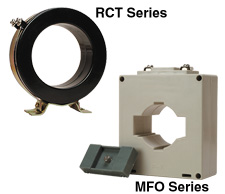 AC Current Transformers for Ammeters (Low Voltage) | MFO and RCT Series
