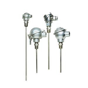 Industrial Thermocouple Probes with Protection Heads | Omega | NB-SS Series, NB-IN Series