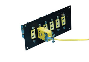 High Temperature Jack Panels for for Standard Size Ceramic Connectors | NXJP Series