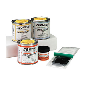 Thermally Conductive Epoxy and Grease ready to ship| Omega Engineering | OB-100, OB-200 Epoxy  Series, & OT-201 Thermal Grease