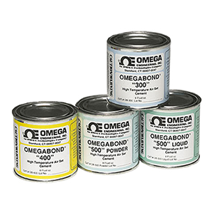 High Temperature Cements, Models, OB-300, OB-400, OB-500, | OMEGABOND™ Air Set Cement Series