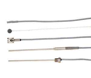Linear Response Thermistor Probes with 10-foot Cable terminated in 3 stripped leads, Various Applications and Styles | OL-700 Series