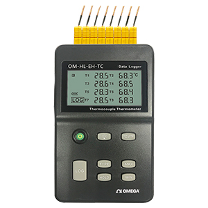 8 Channel | Handheld | Thermocouple Logger | Thermometer | OM-HL-EH-TC Series