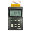 8 Channel Handheld Thermocouple Thermometer/Data Logger