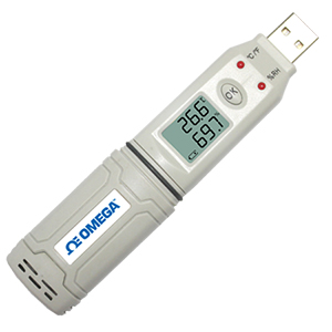 Single Channel Temperature, Humidity, USB Data Logger, IP67 | OM-HL-SP