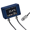 Miniature Fixed Infrared Temperature Sensor with Optional Touch Screen Display