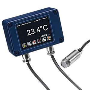 タッチパネル付 赤外線放射温度計出力: mA, RS485 | OS-MINI