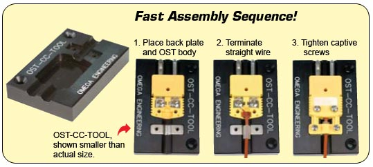 Fast Assembly sequence using the OSTW-CC-Tool