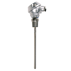 Industrial RTD Probes with Sub-Miniature Aluminum Protection Head | PR-19
