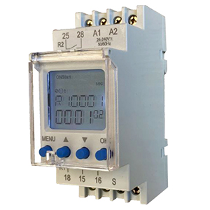 DIN Mount Digital Timer With 2 Relay Output    PTC-16-A-Timer