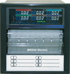 Temperature Chart Recorders | RD200 and RD2800 Series